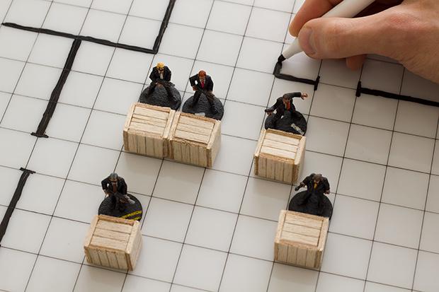 DIY Gridded RPG Boards