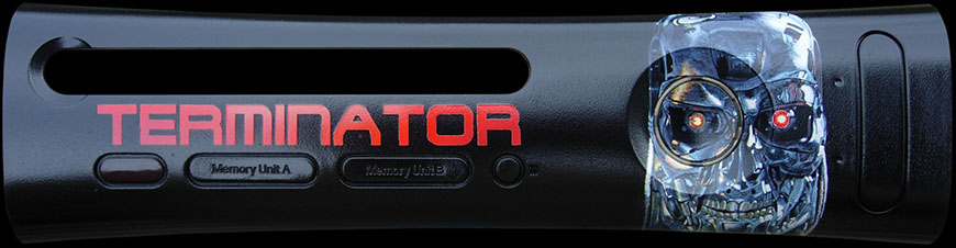 Terminator XBOX 360 Faceplate
